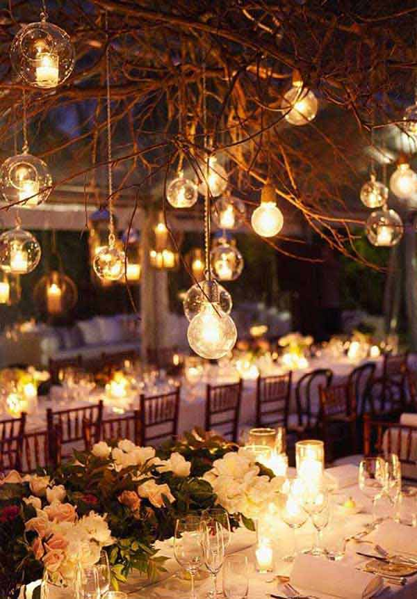 Rustic Tree Branch Chandeliers 14