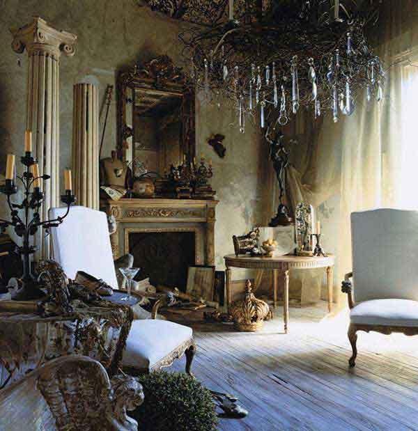 30 creative diy ideas for rustic tree branch chandeliers. Black Bedroom Furniture Sets. Home Design Ideas