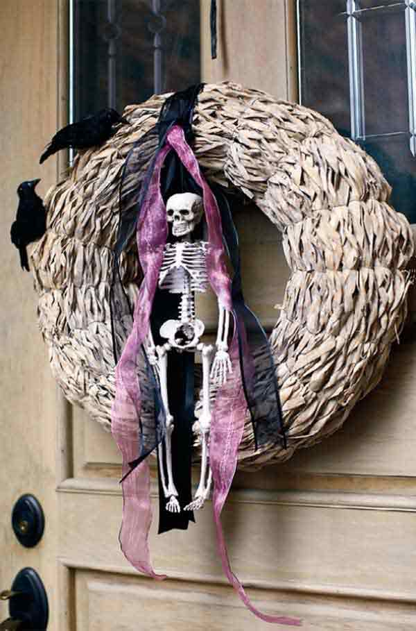 diy creepy halloween decorations