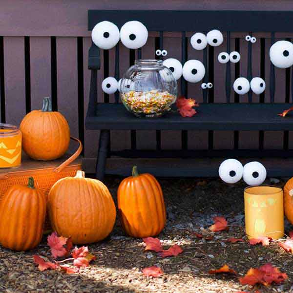 36 top spooky diy decorations for halloween amazing diy for Pinterest halloween outdoor decorations