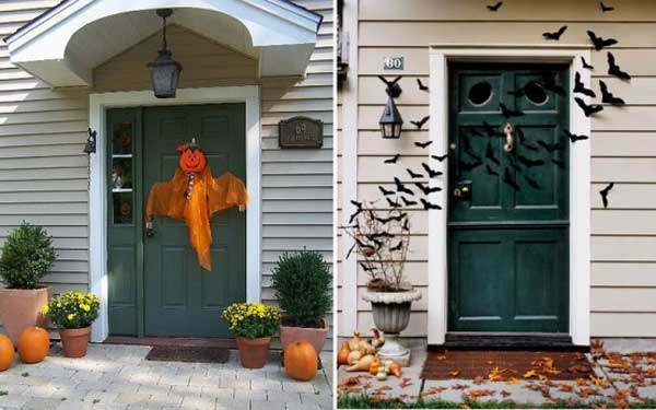 spooky diy decorations for halloween 26 - Decorating Outside For Halloween