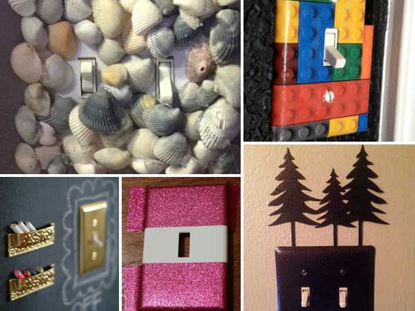 21 Creative Diy Ideas To Decorate Light Switch Plates Amazing Diy Interior Home Design