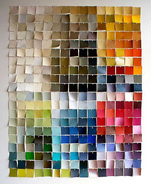 27 easy diy ways to make your walls look uniquely amazing for Cool things to make with paper for your room