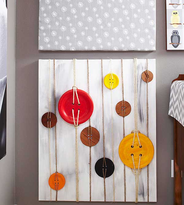 Simple Decorating Ideas To Make Your Room Look Amazing: 27 Easy DIY Ways To Make Your Walls Look Uniquely Amazing