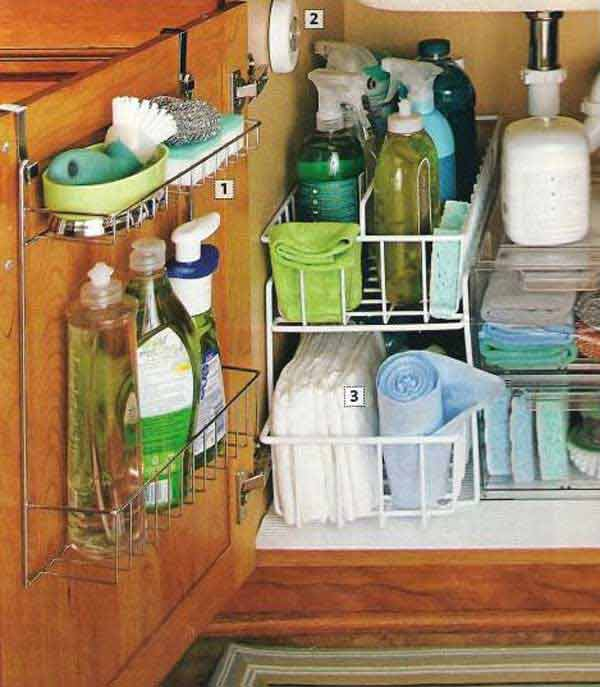 Kitchen Cabinet Organization Ideas: 37 DIY Hacks And Ideas To Improve Your Kitchen