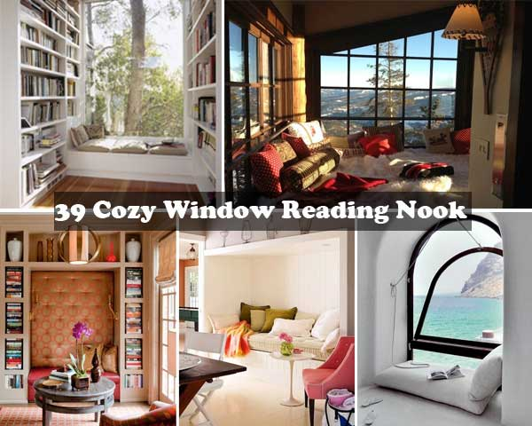 Cozy And Inspiring Window Nook Can Not Be Ignored Window Reading