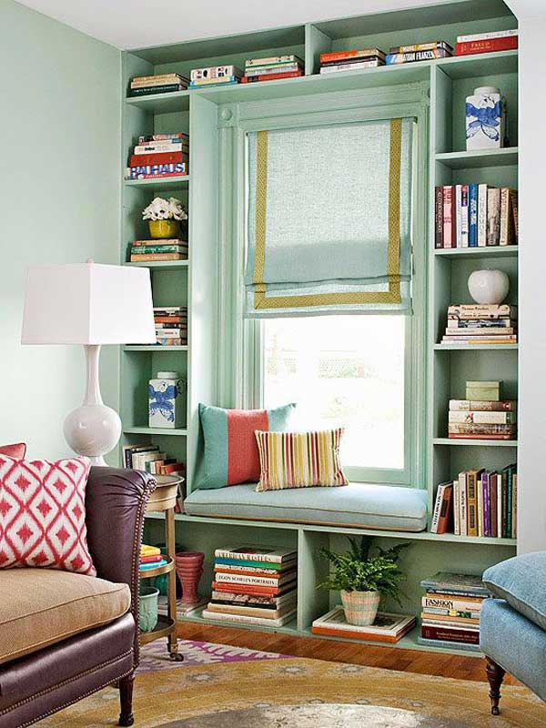 Interior Design Home Library: 39 Incredibly Cozy And Inspiring Window Nooks For Reading