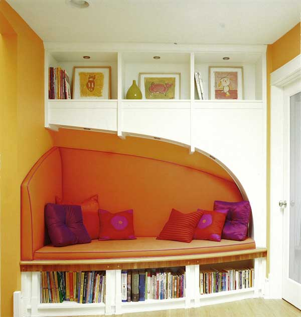 39 incredibly cozy and inspiring window nooks for reading for Cozy reading room design ideas