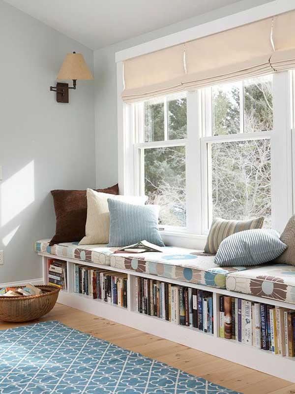 39 incredibly cozy and inspiring window nooks for reading Window seat reading nook