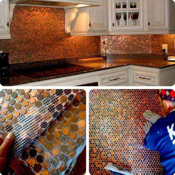 creative kitchen backsplash ideas 1 - Easy Backsplash Ideas For Kitchen