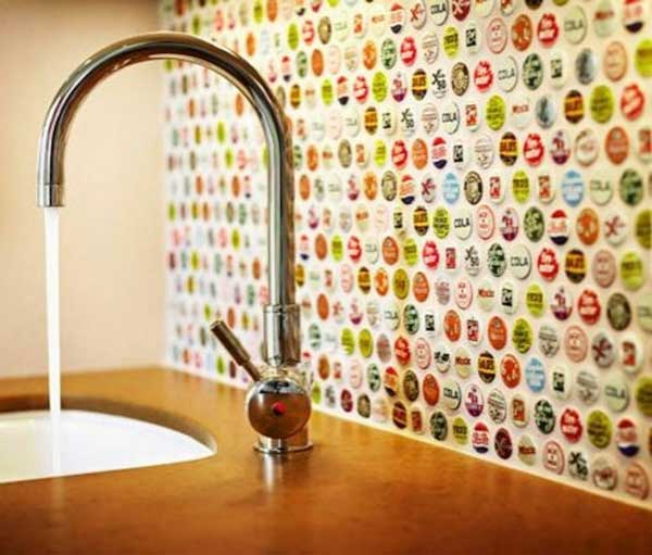 Top 30 Creative And Unique Kitchen Backsplash Ideas Amazing Diy - Mosaic-backsplash-creative