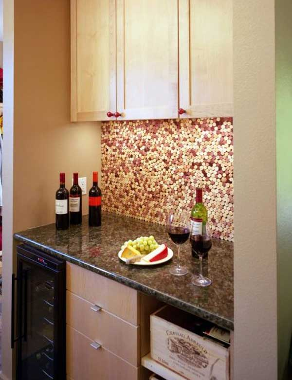 creative kitchen backsplash ideas 17 - Cool Kitchen Backsplash Ideas