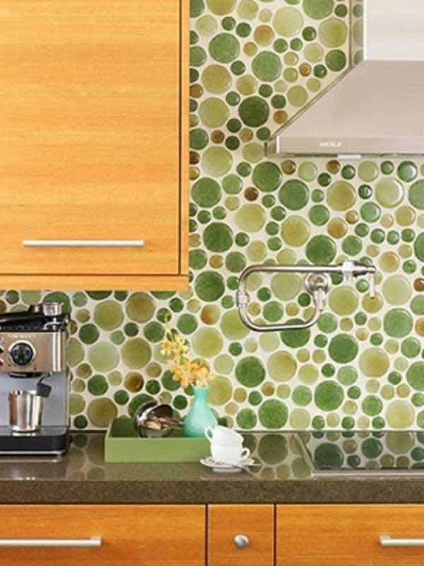 Attractive Creative Backsplash Ideas Part - 8: ... Creative-kitchen-backsplash-ideas-21 ...