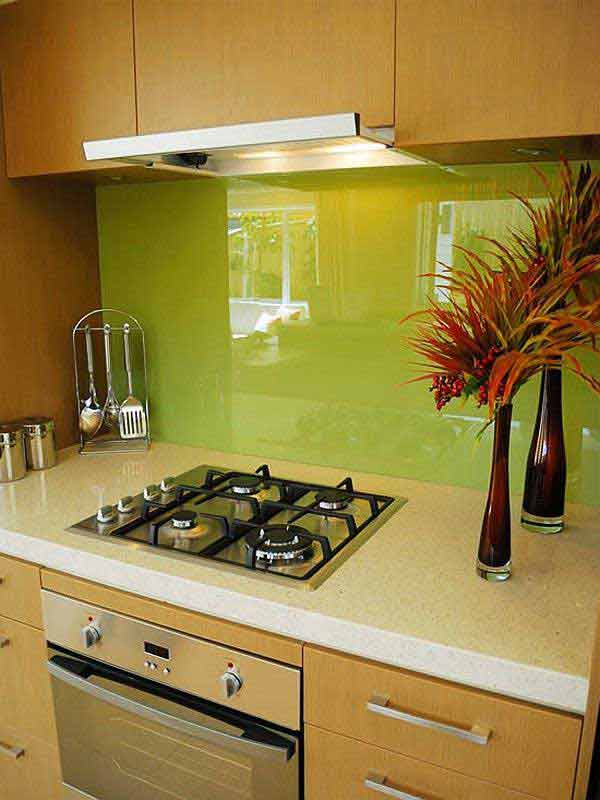 Top 30 creative and unique kitchen backsplash ideas for Backsplash designs for small kitchen