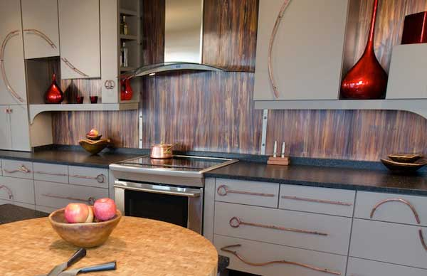 Top 30 creative and unique kitchen backsplash ideas for Simple and cheap kitchen design