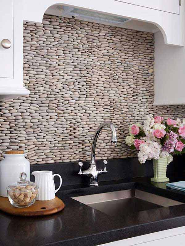 creative backsplash ideas