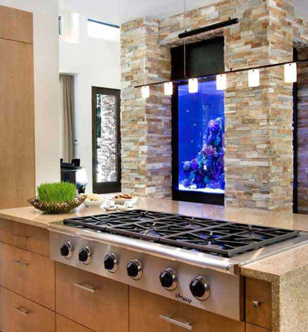 creative-kitchen-backsplash-ideas-5 - Top 30 Creative And Unique Kitchen Backsplash Ideas
