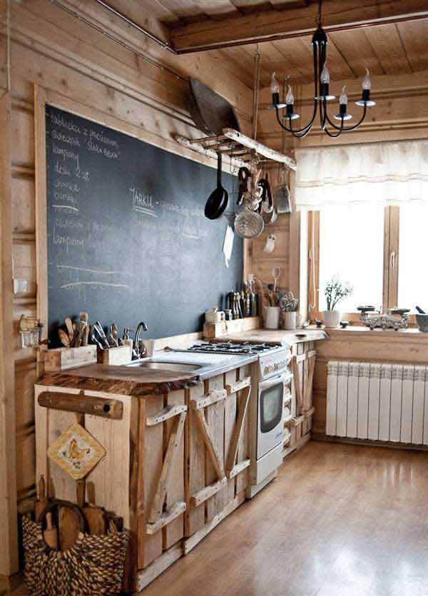 Top 30 Creative and Unique Kitchen Backsplash Ideas ... on Farmhouse:-Xjylc6A2Ec= Rustic Kitchen  id=74999