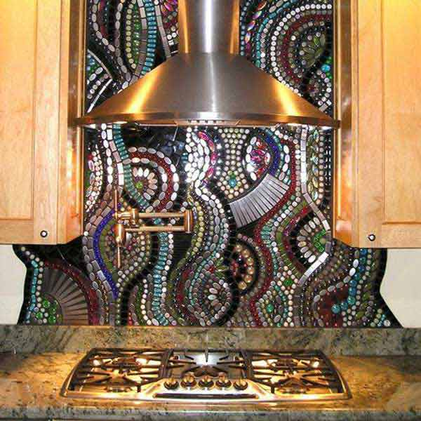 Creative Kitchen Backsplash Ideas 8