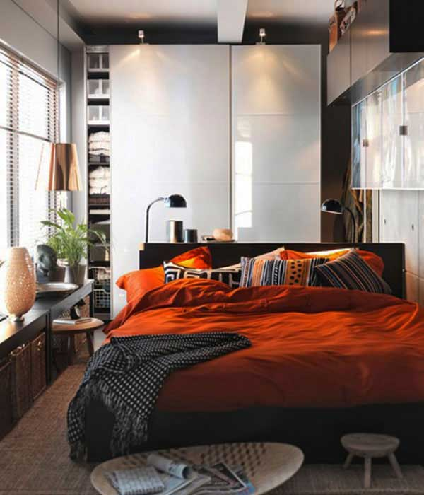 ideas small bedrooms.  small bedroom design ideas 24 35 Inspiring Ideas To Make Your Small Bedroom Look Larger Amazing