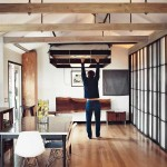 Bed Retracts from the Ceiling – Brilliant Idea for Small Rooms