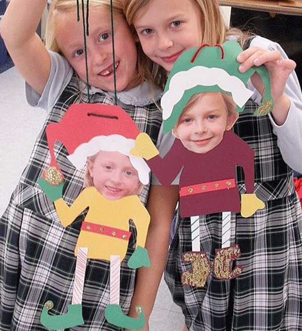 Top 38 Easy and Cheap DIY Christmas Crafts Kids Can Make - Amazing ...