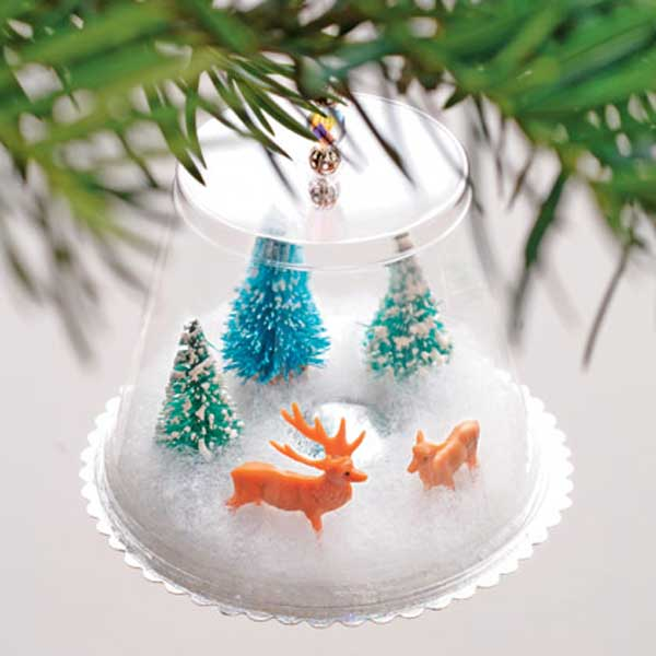 Christmas decorations easy to make at home - Home decor