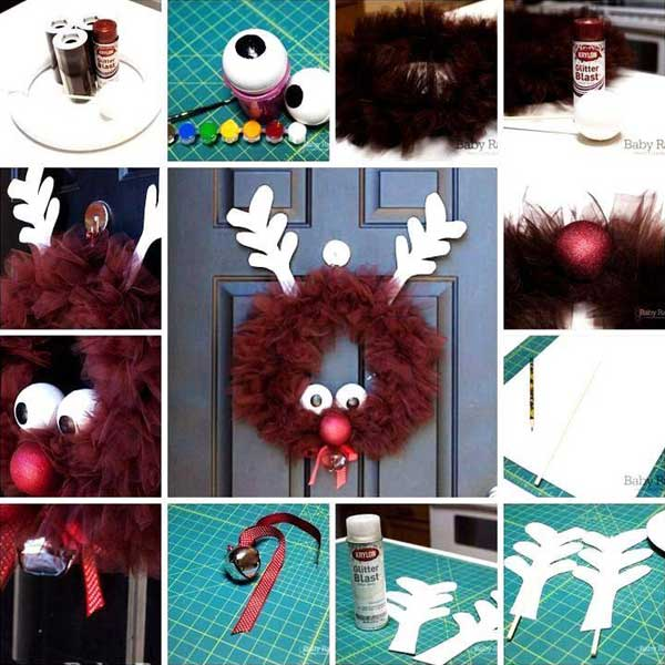 Home Design Ideas Easy: Top 38 Easy And Cheap DIY Christmas Crafts Kids Can Make