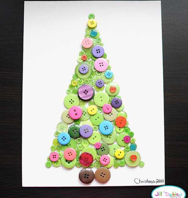 christmas craft for kids 31 - Childrens Christmas Tree Decorations