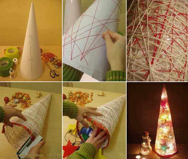 Cheap christmas decorations Easy christmas decorations to make at home