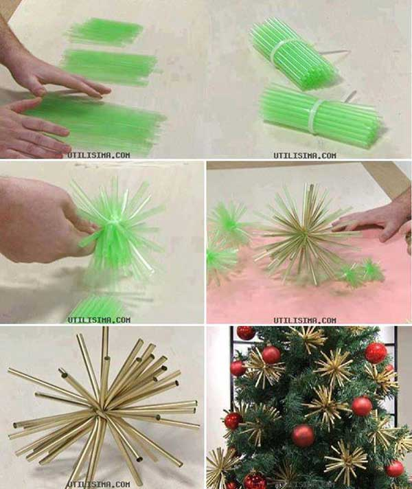 Top 36 simple and affordable diy christmas decorations for Cheap christmas decoration ideas