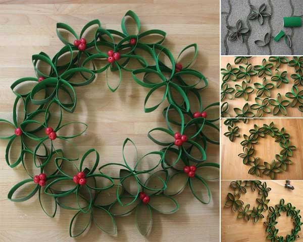 easy homemade paper christmas decorations photo5 - Paper Christmas Decorations To Make At Home