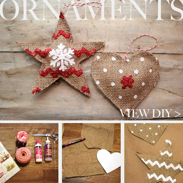 Top 36 simple and affordable diy christmas decorations for Homemade tree decorations