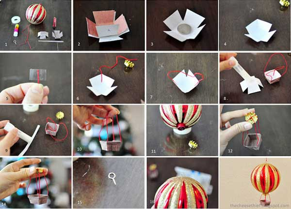 Top 36 Simple and Affordable DIY Christmas Decorations - Amazing ...
