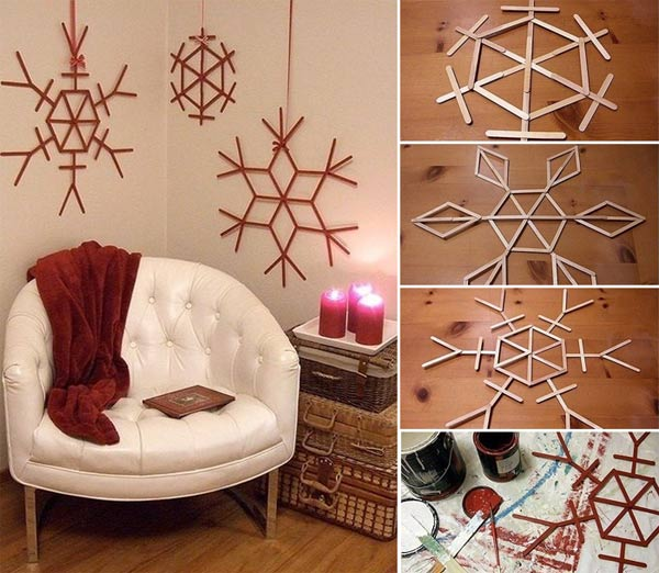 Diy Christmas Wall Decorations - Caprict.com