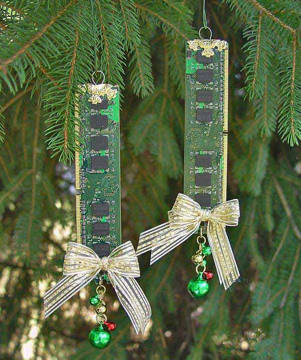 Top 36 simple and affordable diy christmas decorations for Home made christmas tree decorations