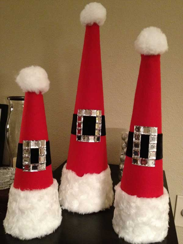Top 36 simple and affordable diy christmas decorations for Christmas decorations easy to make at home