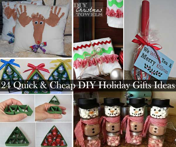 Cheap craft ideas for christmas gifts