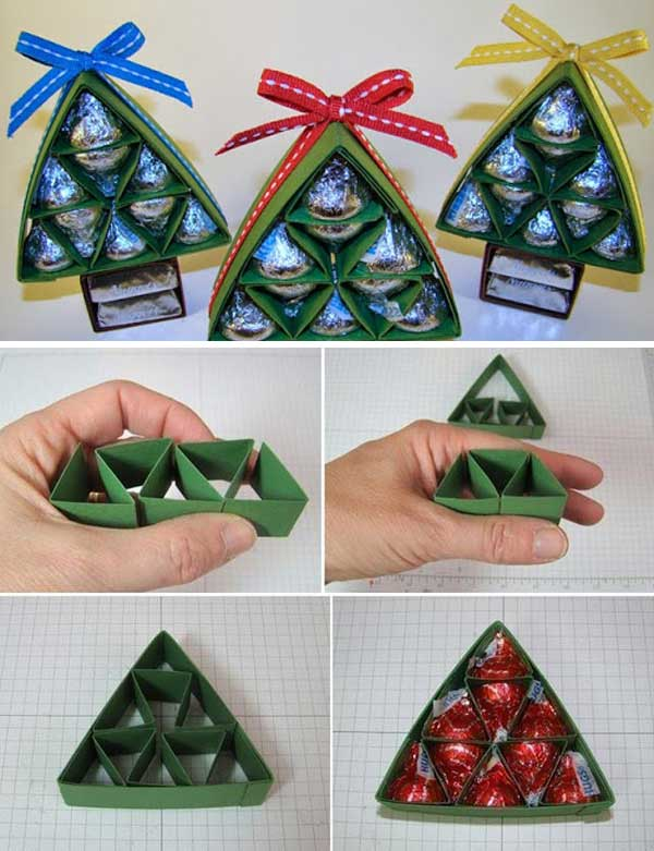 Diy sweet chocolate christmas tree gift wonderful diy sweet chocolate christmas tree gift solutioingenieria Image collections