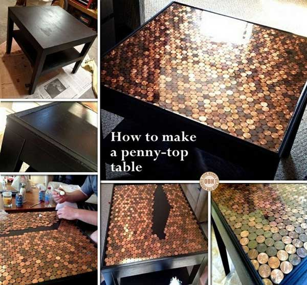 21 Lovely Diy Lifehacks That Use A Penny Amazing Diy
