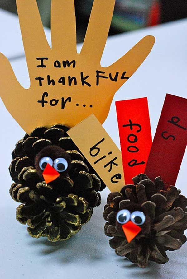 Beautiful Thanksgiving Craft Ideas For Kids Part - 9: Thanksgiving-Crafts-Kids-Can-Make-10