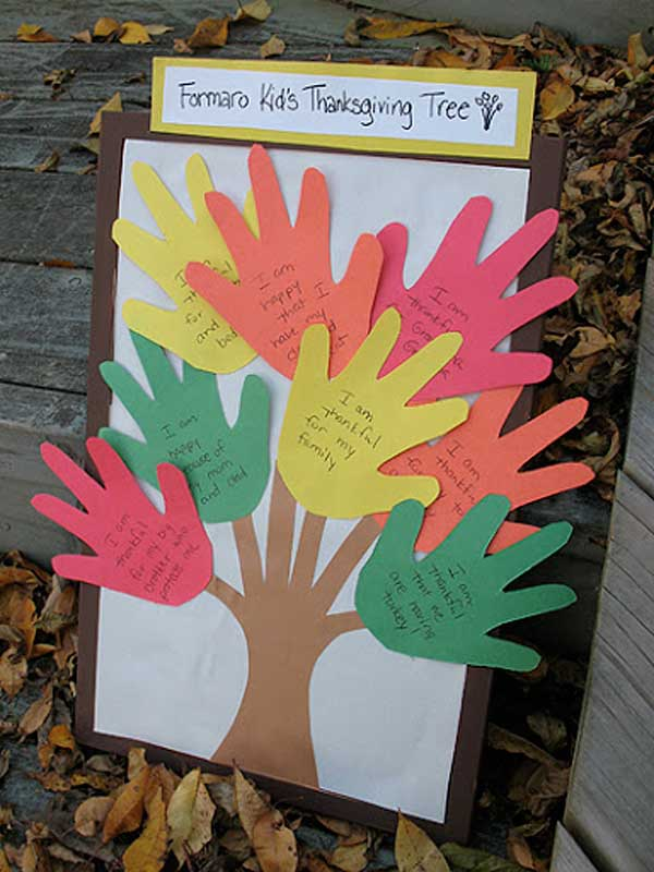 Top 32 easy diy thanksgiving crafts kids can make for Thanksgiving sunday school crafts
