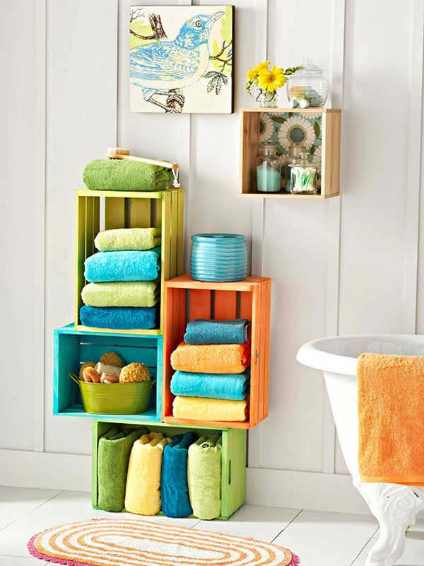 Superieur Diy Bathroom Storage Ideas 10