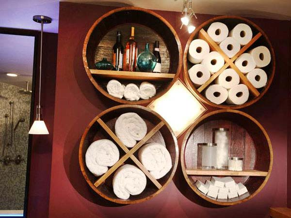 Perfect Fotos  30 Brilliant Diy Bathroom Storage Ideas