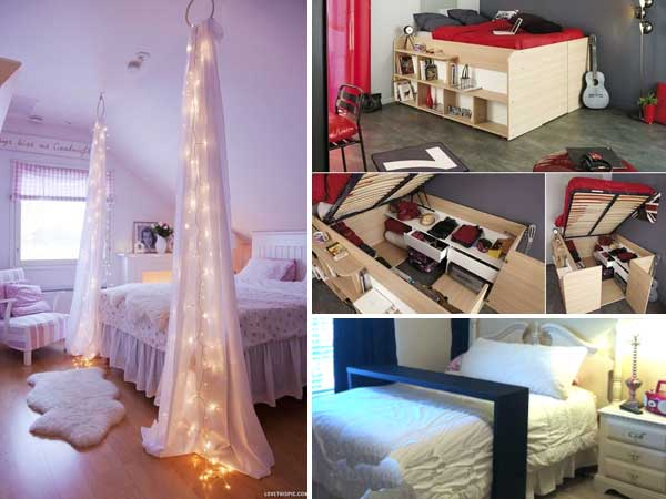40 Brilliant Ideas For Your Bedroom Adorable Cool Ideas For Your Bedroom