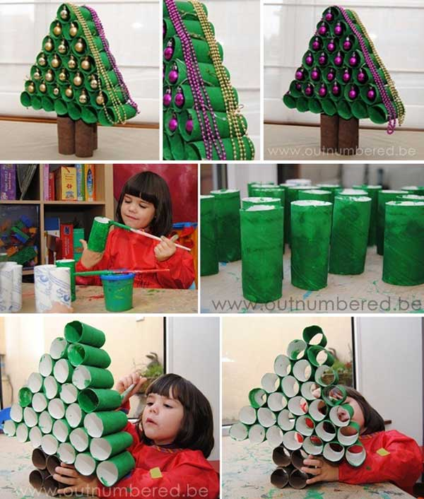 45 budget friendly last minute diy christmas decorations Easy christmas decorations to make at home