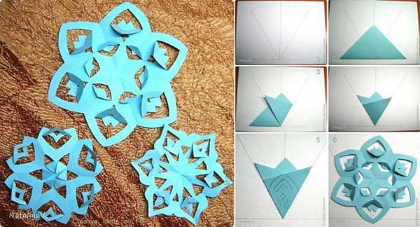 45 budget friendly last minute diy christmas decorations for Paper christmas decorations to make at home