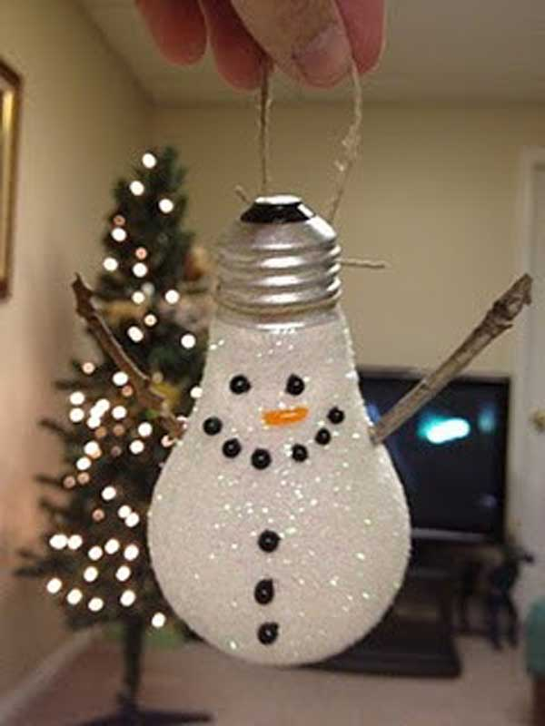 diy christmas crafts 37 - Christmas Decoration Craft Ideas