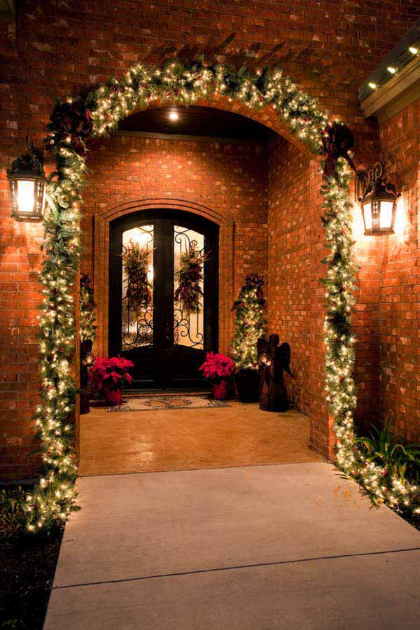 ... DIY Christmas Porch Ideas 11