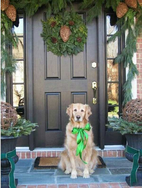 Nice Front Porch Christmas Decor 40 Cool Diy Decorating Ideas For Christmas  Front Porch   Amazing
